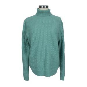 Charter Club Cashmere Cable Turtleneck Sweater